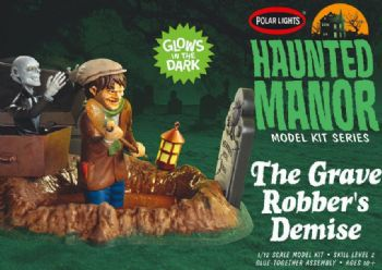 Haunted Manor Grave robbers Demise 1:12 Scale Model Kit